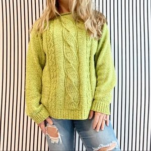 Chunky Oversized Cable Knit Pullover